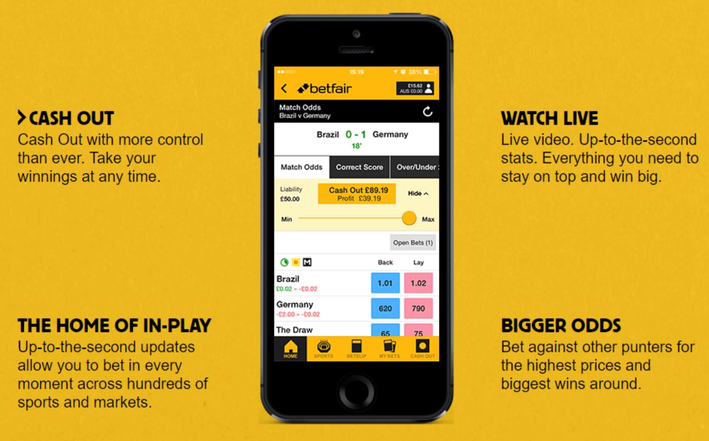 Perché è meglio avere Betfair mobile app?